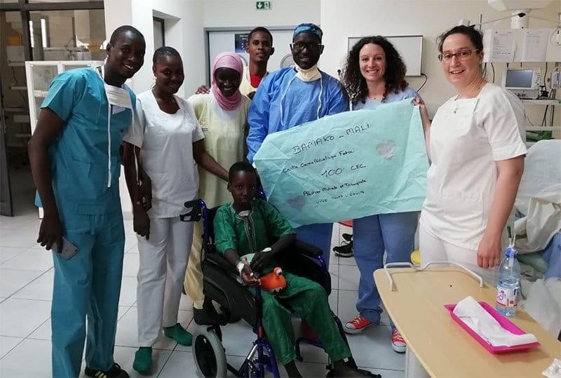 100 opération à coeur ouvert au Mali