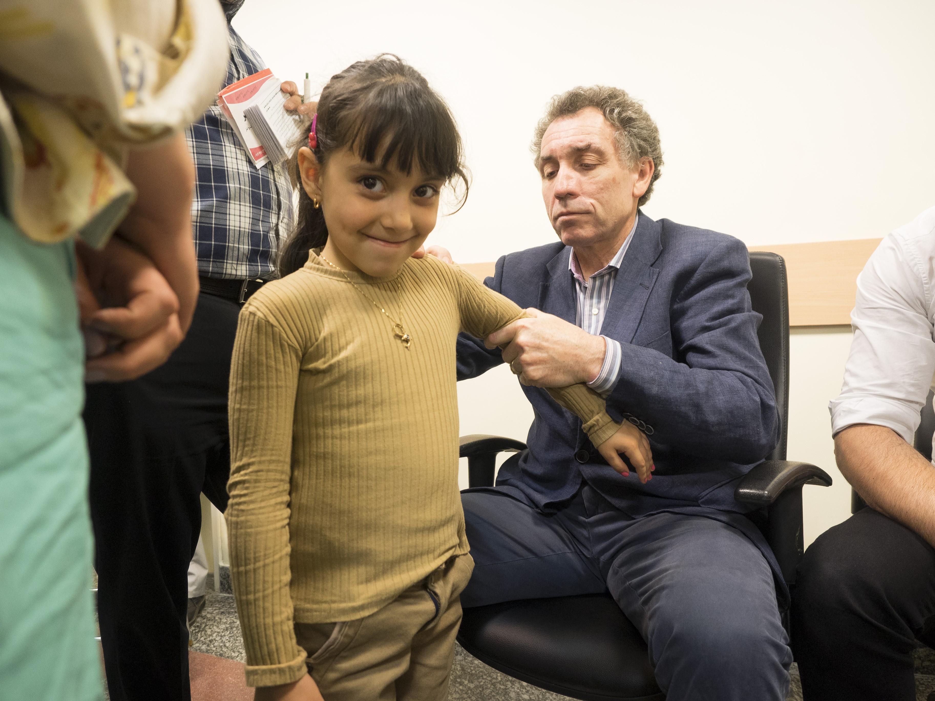 Mission de chirurgie orthopédique en Iran