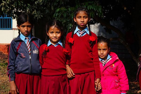 Nos actions au Népal