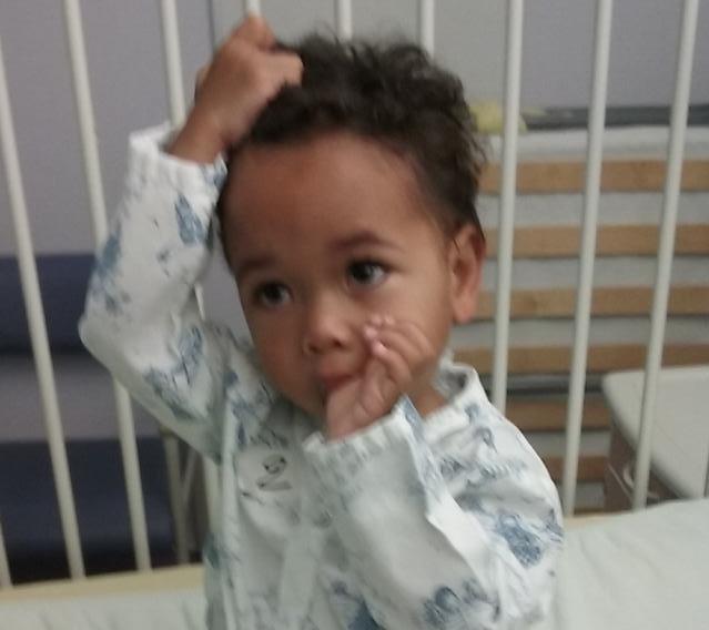 Any, enfant opéré par La Chaîne de l'Espoir
