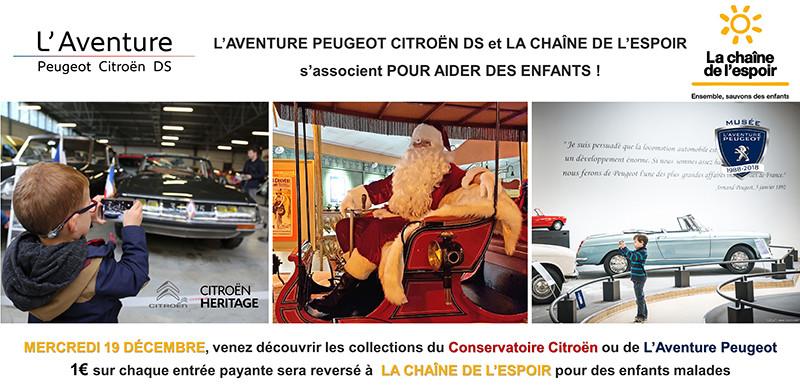 L'Aventure DS Peugeot Citroen