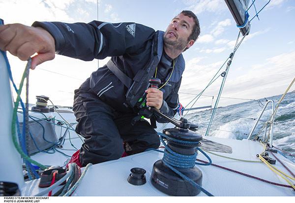 Benoît Hochart navigue pour La Chaîne de l'Espoir