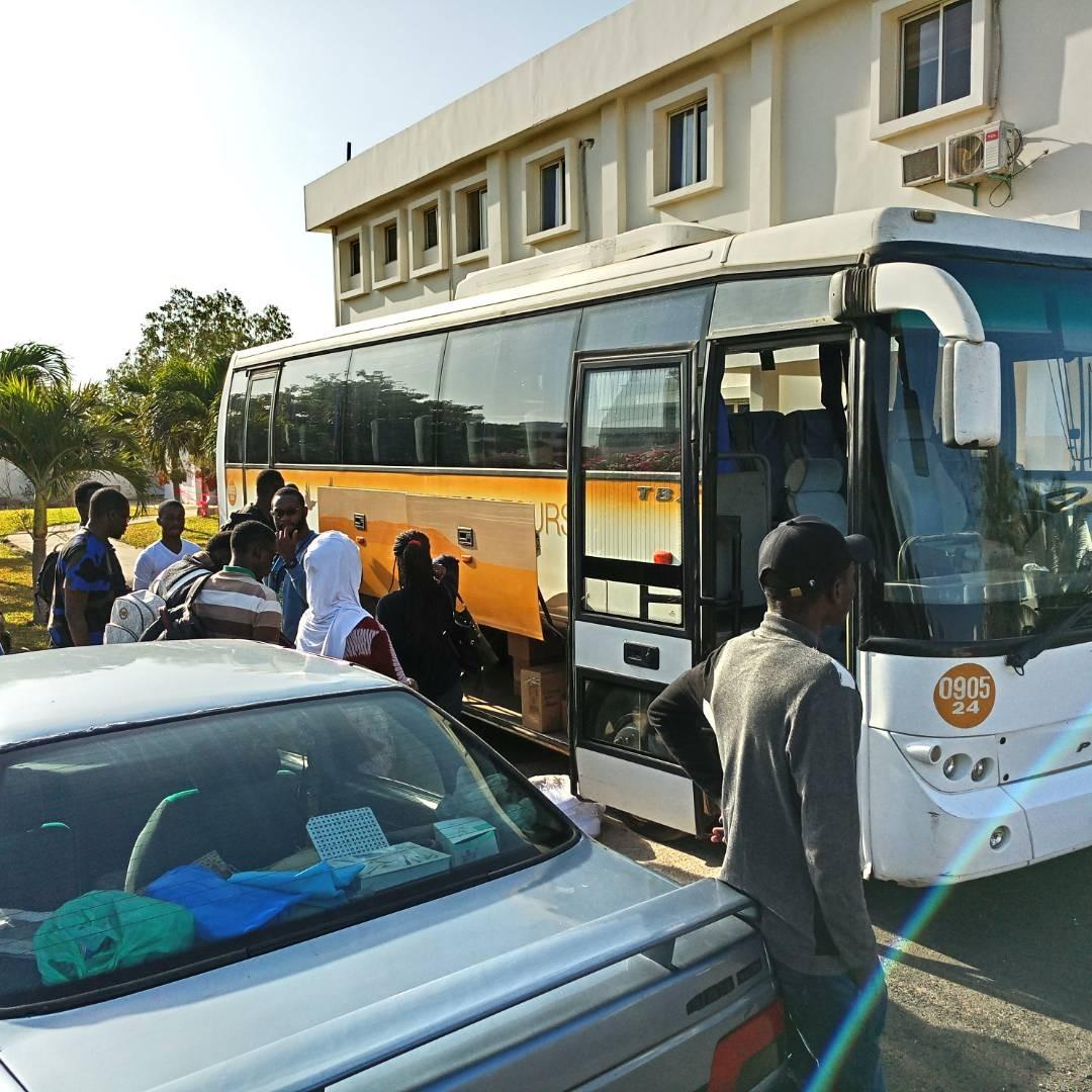 Campagne de dépistage à Mboumba