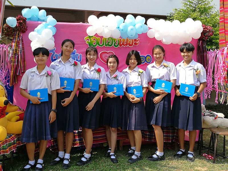 Cérémonie de remise des diplômes en Thaïlande