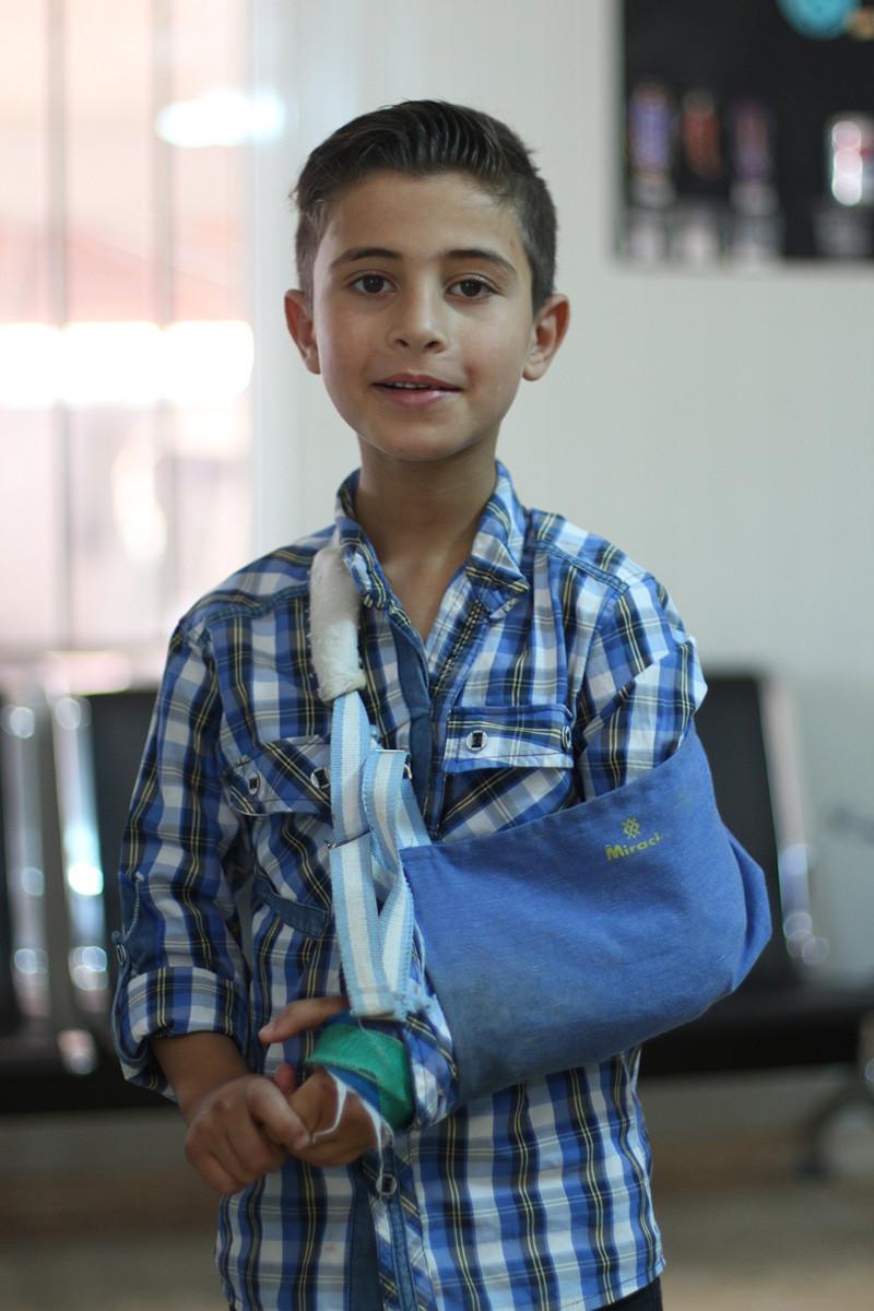 Enfant opéré au Liban - Copyright URDA