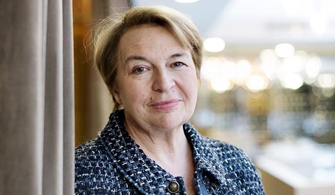 Christine Pedotti - Copyright Florence Brochoire / Le Monde