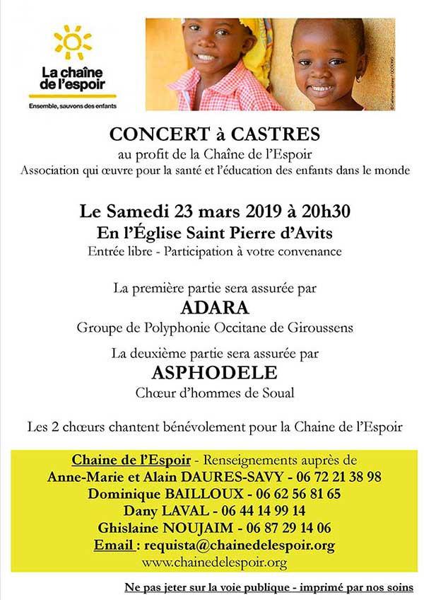Concert à Castres