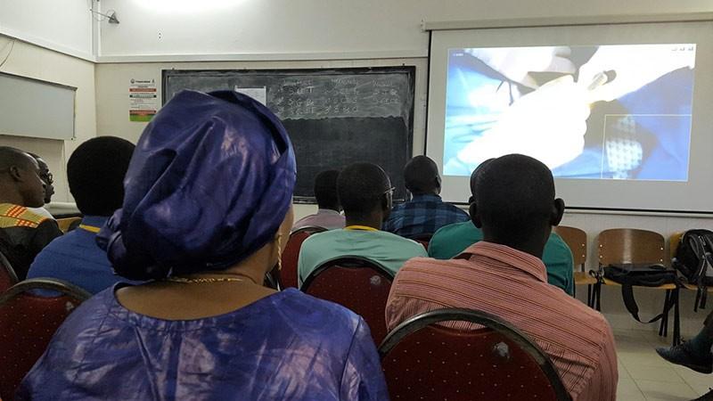 Formation DES à Dakar