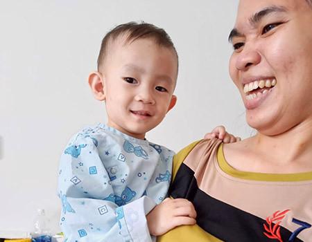 Le petit Lee au Vietnam
