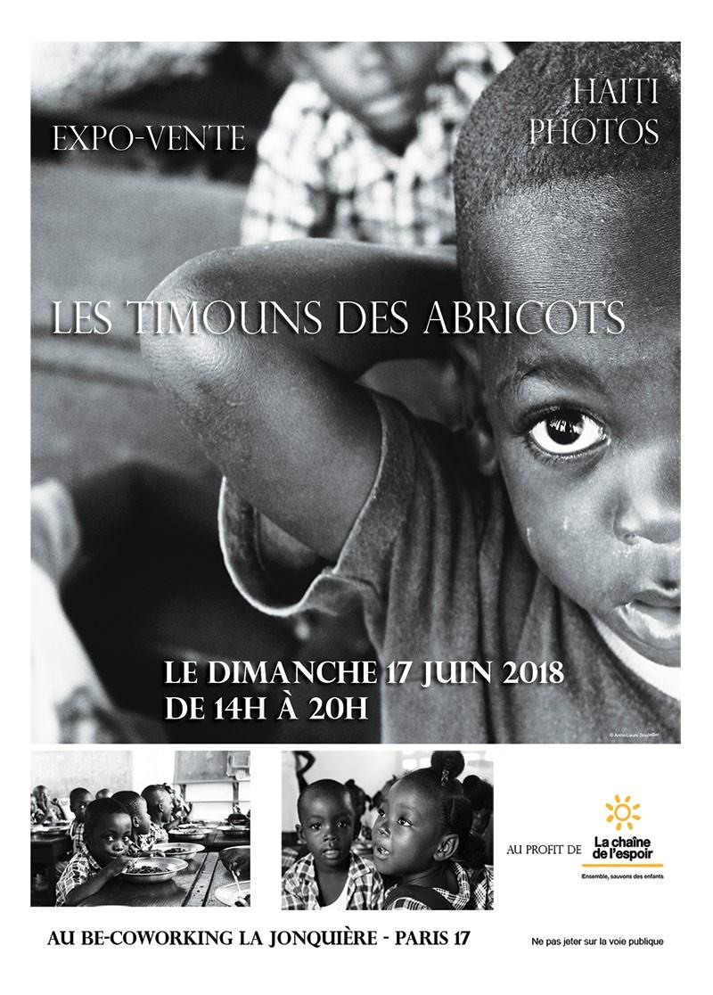 Expo-vente pour les enfants en Haïti
