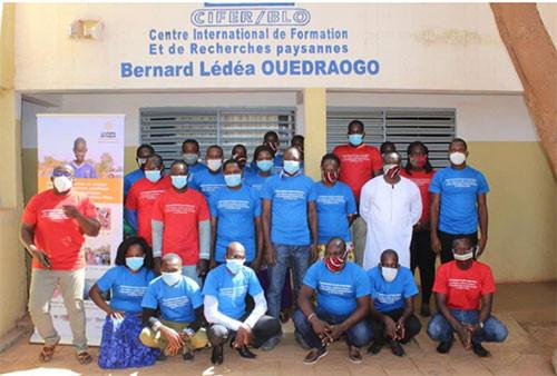 Sessions de formation au Burkina Faso