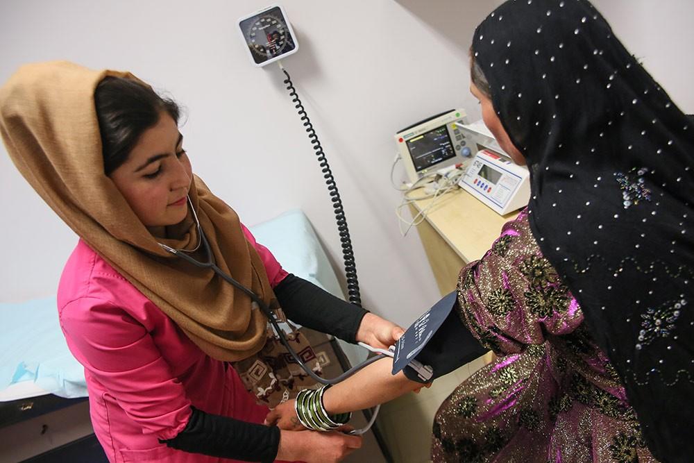 Formation médicale en Aghanistan