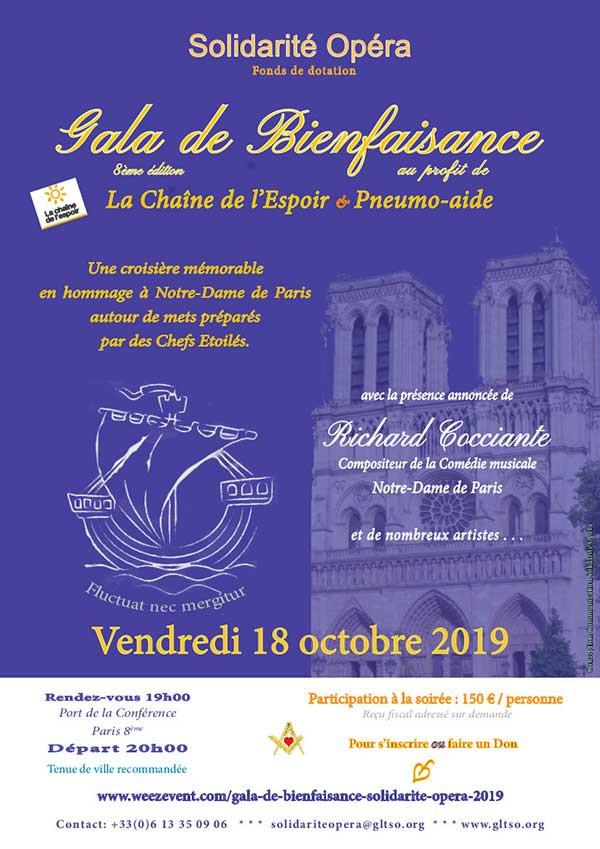 Gala de bienfaisance GLTSO 2019