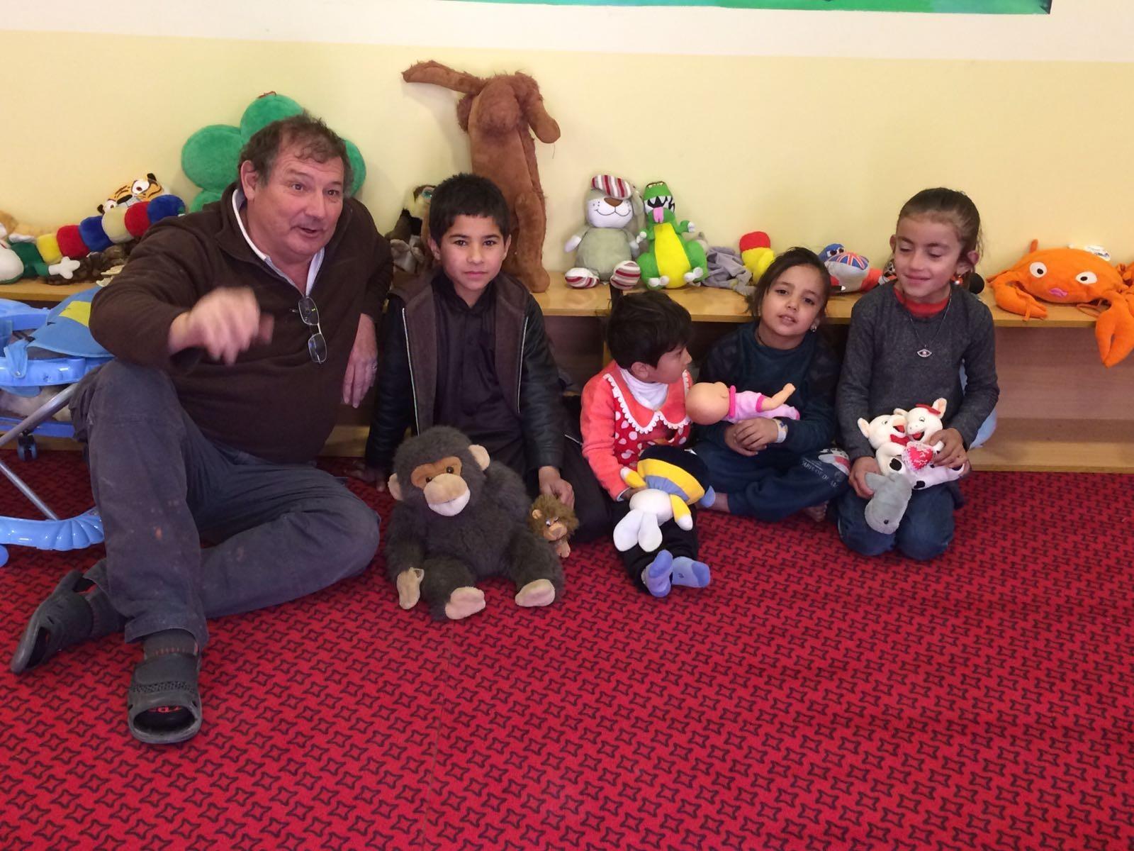Dons de jouets à Kaboul