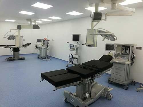 Inauguration du bloc-opératoire à Sinjar