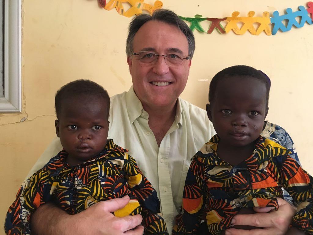 Issa et Amadou après leur opération