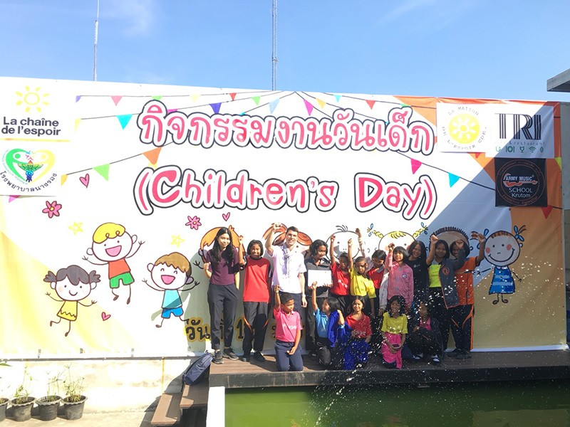 Journée de l'Enfant en Thaïlande