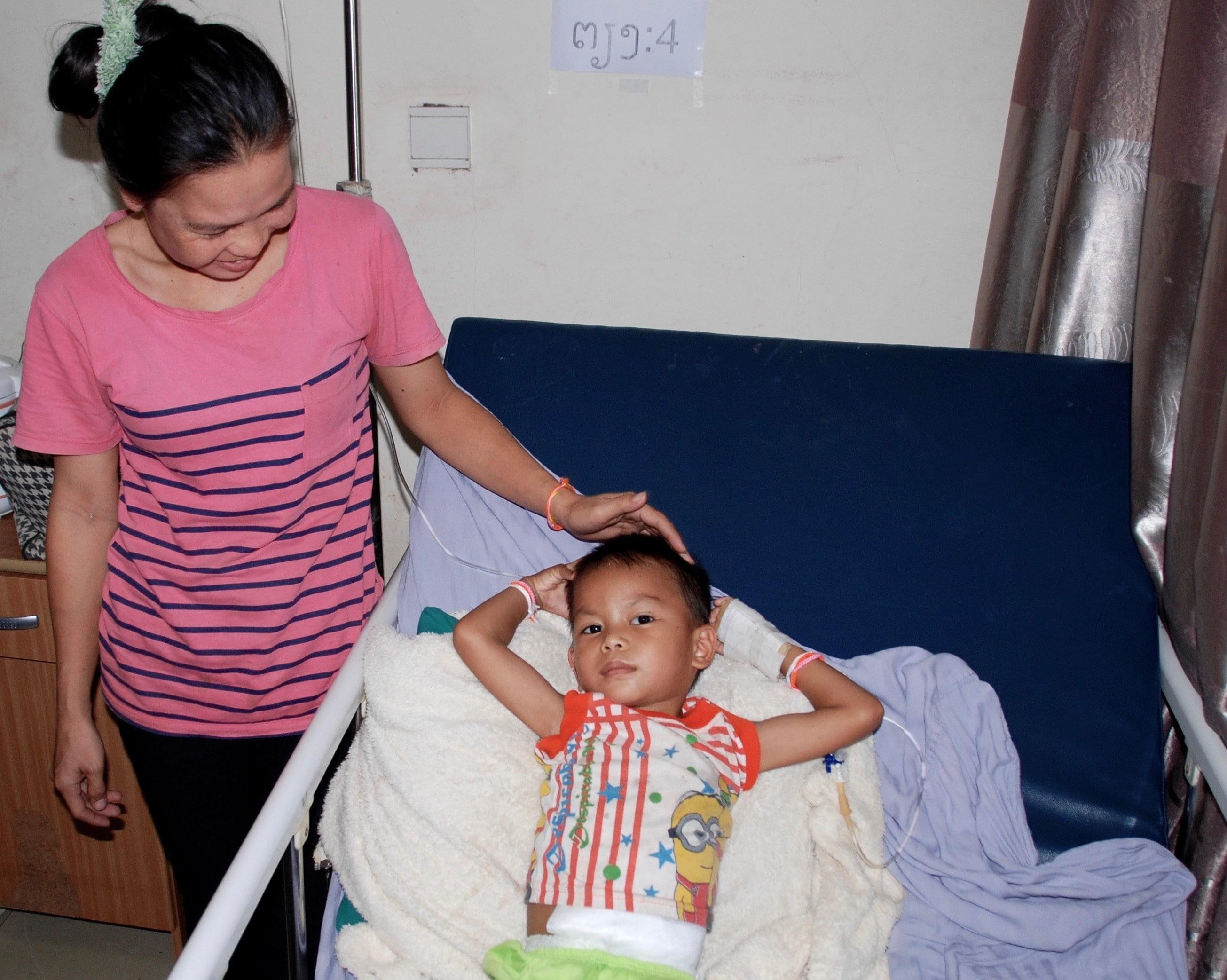Keon après son opération