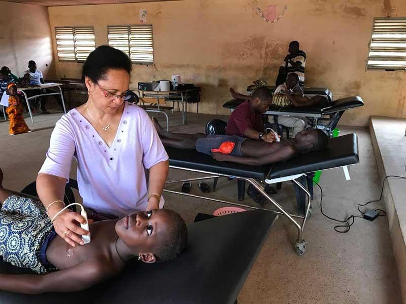 Campagne de dépistage au Sénégal