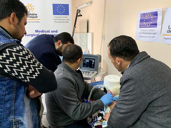 Campagne de détection précoce de pathologie cardiaque et orthopédique en Jordanie