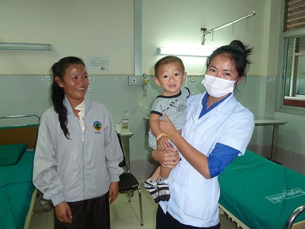 Mission de chirurgie viscérale au Laos