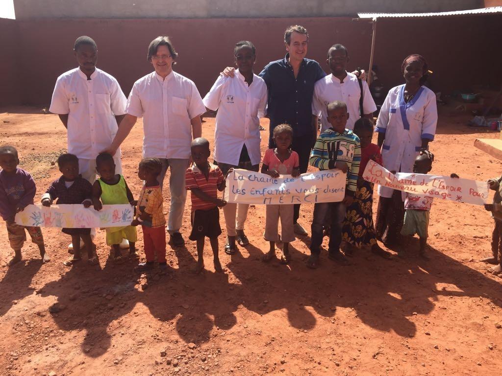 Corrective surgery in Mali