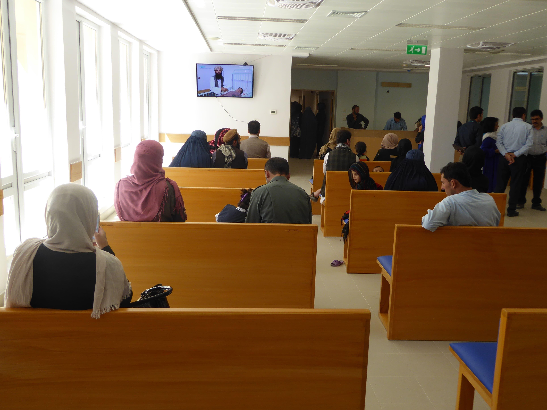 Premières consultations gynécologiques à Kaboul