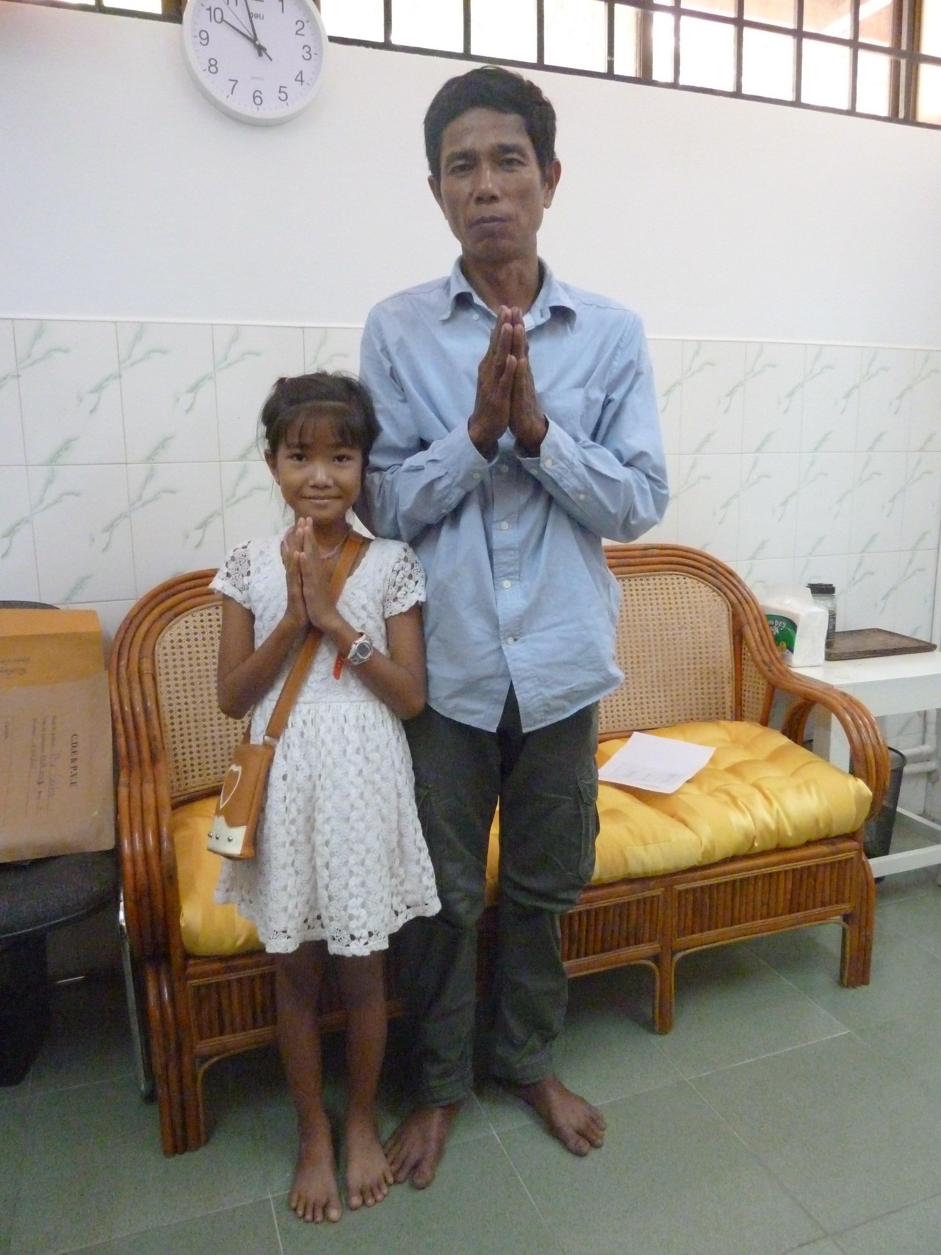 Sokha et son père