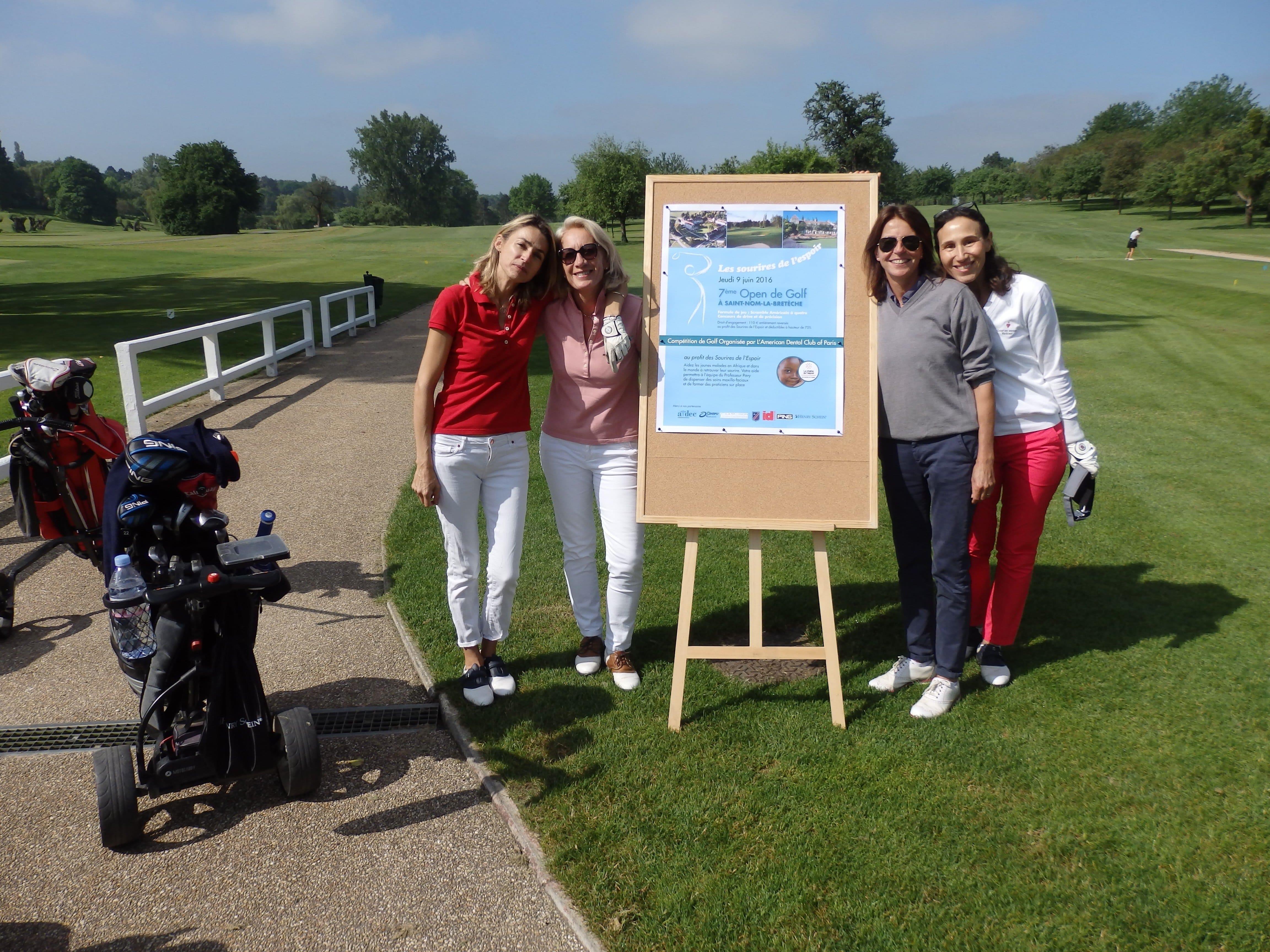 7ème Open de golf pour La Chaîne de l'Espoir