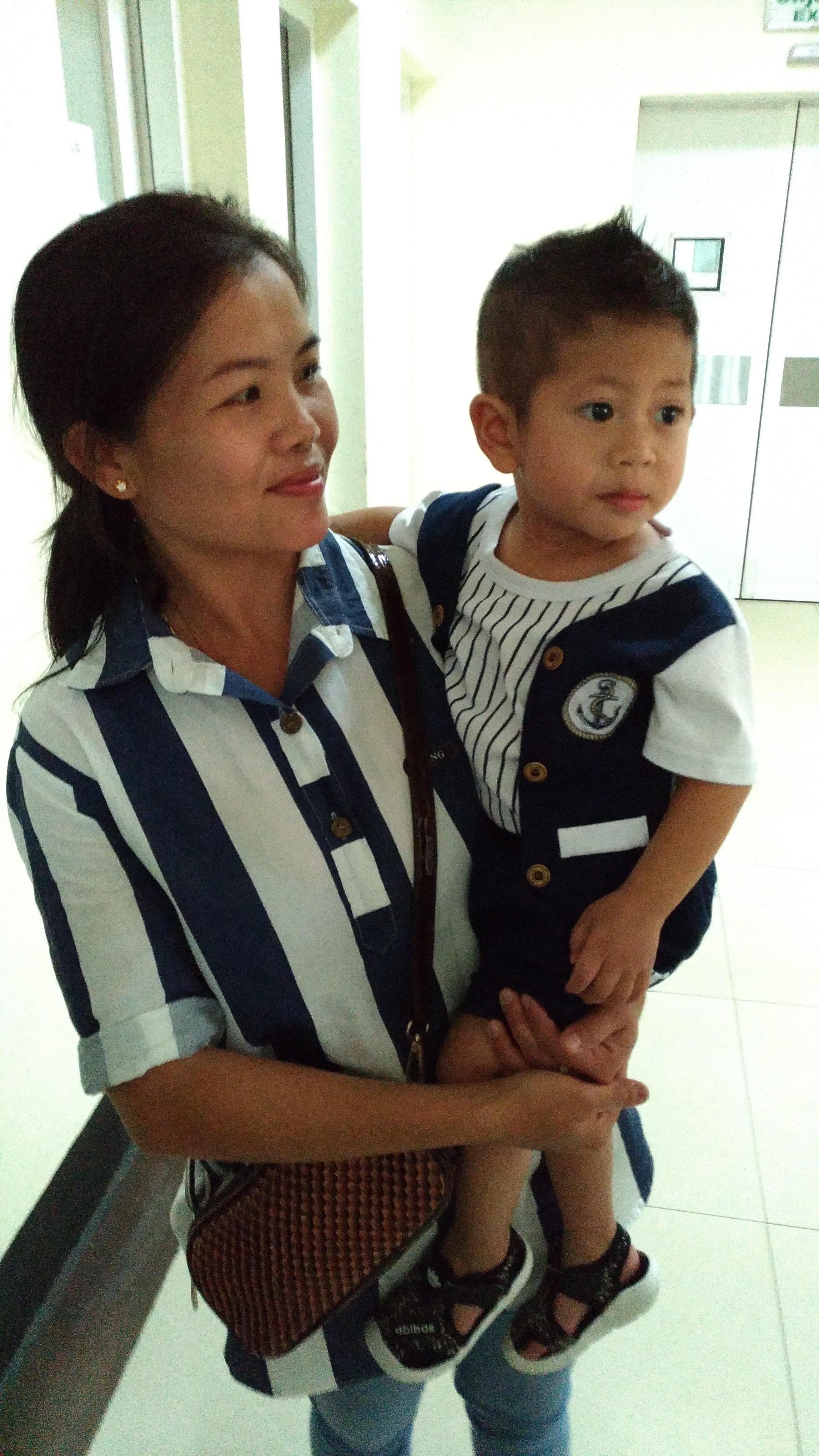 Enoy et sa maman