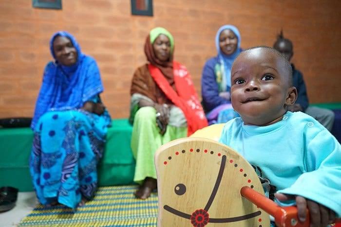 Pavillon des enfants à Dakar
