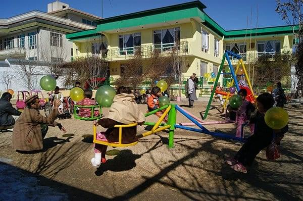 Pavillon des enfants de Kaboul