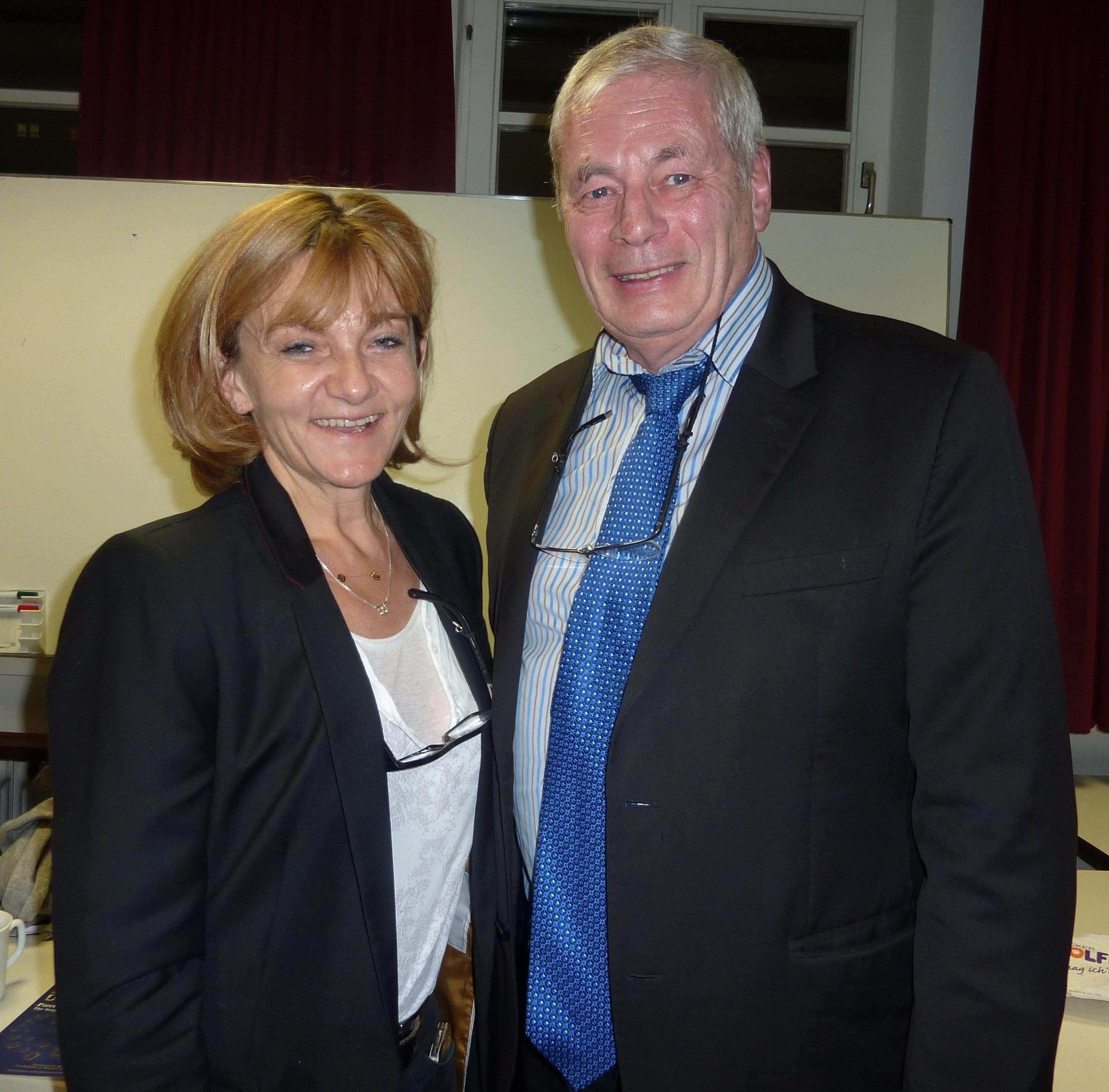 Frédérique Martz et Pierre Foldes