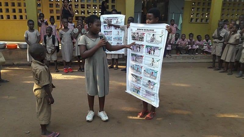 Projet pilote de santé scolaire au Togo