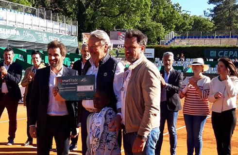 Remise de chèque - Open du Pays d'Aix 2019