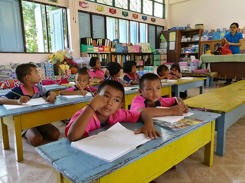 Back to school in Thailand
