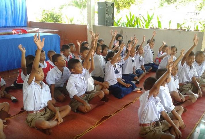 Rentrée scolaire en Thaïlande