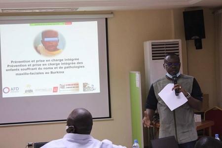 Restitution des résultats de l'évaluation du projet « Prévention et prise en charge intégrée des enfants souffrant du noma et de pathologies maxillo-faciales au Burkina Faso » cofinancé par l'AFD