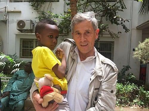 Eric Cheysson en mission au Mali