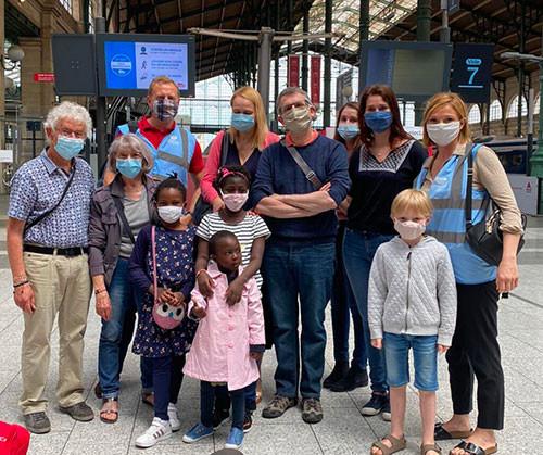Retour des enfants soignés en France au Burkina Faso
