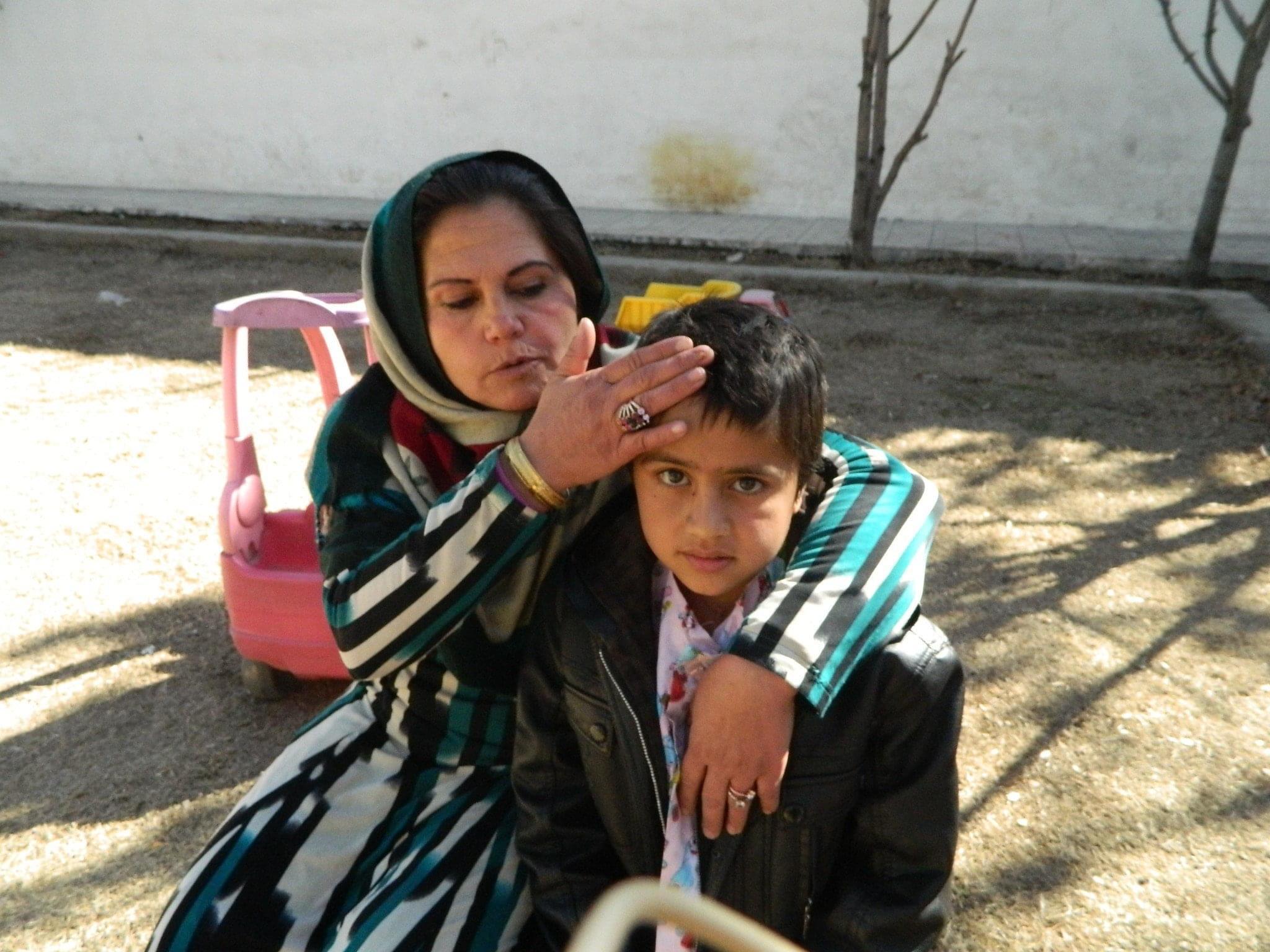 Saleh, enfant opéré par La Chaîne de l'Espoir à Kaboul