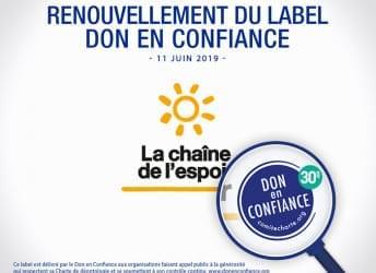 renouvellement label don confiance