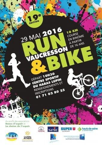 Run & Bike à Vaucresson