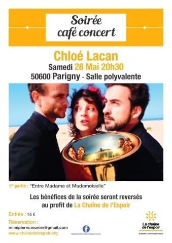 Soirée café concert Chloé Lacan