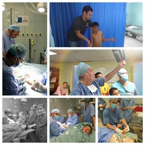 Mission de chirurgie orthopédique de La Chaîne de l'Espoir en Jordanie