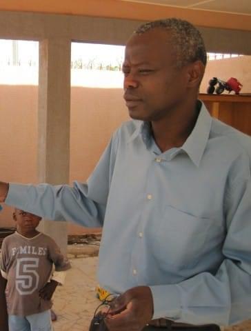 Narcisse Zwetyenga en mission humanitaire pour La Chaîne de l'Espoir