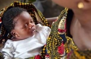 Bébé Afrique