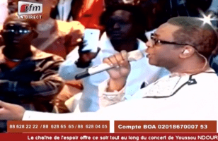 Youssou N'Dour's concert for hearts
