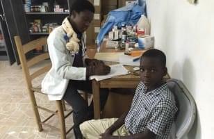 Projet pilote de santé scolaire en Haïti