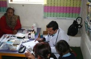 Mise en place d'un volet médical au Népal
